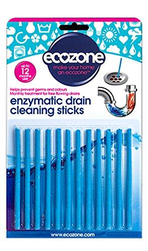 ecozone-ez4-pack-de-12-batonnets-de-debouchage-par-methode-enzymatique-pour-1-annee-complete