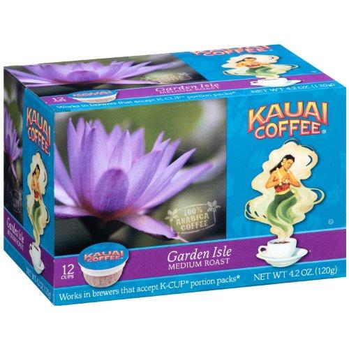 Kauai Coffee Garden Isle Medium Roast 12 K Cups Per Box - Pack Of 2