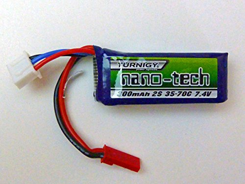 Turnigy-Nano-Tech-300-mAh-2s-35c-Modellbau-Eibl