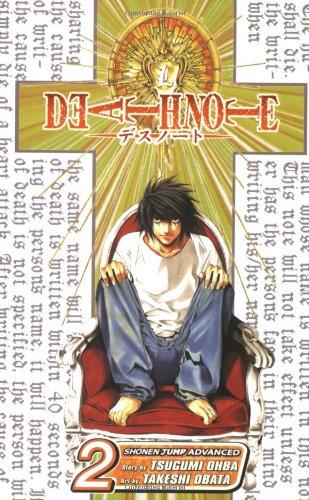 DEATH NOTE 2巻 (英語版)