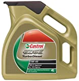 Castrol 25014 Synthetic Motor Oil Edge SAE 5W-40, 4 Liter