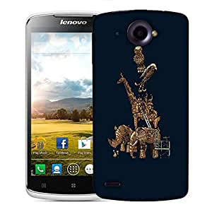 Snoogg Mechanism Of Animal Designer Protective Back Case Cover For LENOVO S920