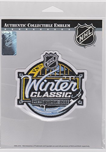 2011 WINTER CLASSIC PATCH PITTSBURGH PENGUINS Vs. WASHINGTON CAPITALS - 1