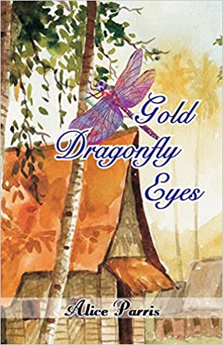 Gold Dragonfly Eyes by Alice Parris