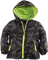 iXtreme Baby Boys Infant Animal Print Hooded Sprint Jacket