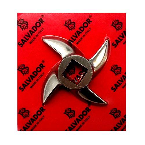 #12 Grinder Knife, Stainless Steel by Salvador-Salvinox