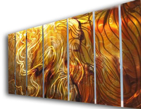 138×48 Contemporary Metal Wall Decor – Unique Artwork – Modern Painting , modern wall sculpture, metal home decor, contemporary sculpture