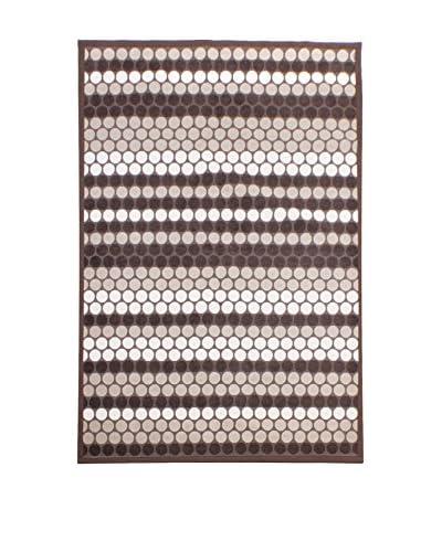 Tapis a Porter Alfombra Modern Marrón 80 x 150 cm