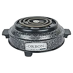 Orbon 1000-Watt G Coil Hot Plate Radient Cooktop / Induction Cookers / Handy G Coil Cooktop ( With Attached 2 Mtr. Cord )
