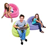 Intex inflatable sofa. (Purple) Free air pump.