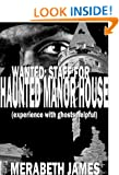 Wanted: Staff For Haunted Manor House (experience with ghosts helpful) (A Caitlin McLeod Gothic Thriller)