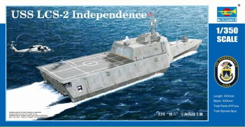 Trumpeter 1/350 Scale USS Independence LCS2 Littoral Combat Ship (Lcs 2 compare prices)