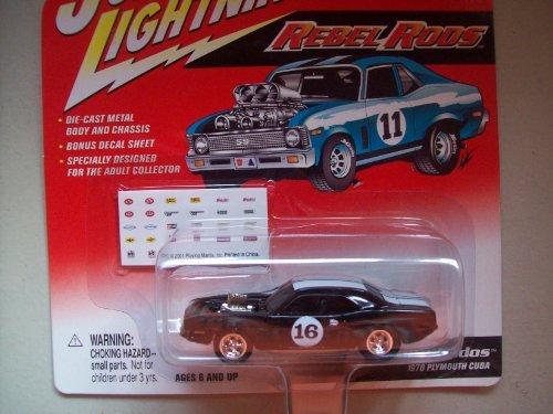 Johnny Lightning Rebel Rides King Kudos 1970 Plymouth Cuda