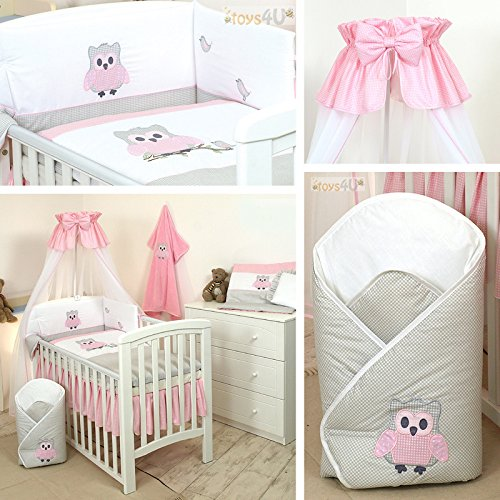 10tlg babybettw sche set sort 135x100cm baby bettw sche. Black Bedroom Furniture Sets. Home Design Ideas