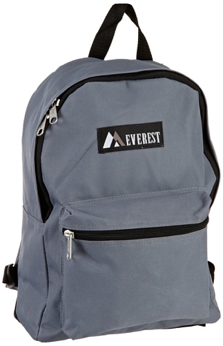 Everest Luggage Basic Backpack, Dark Gray, Medium (Southern Company Book compare prices)