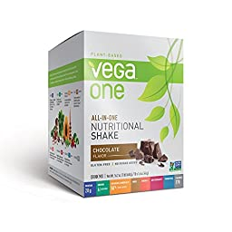 Vega All-in-One Nutritional Shake, Chocolate, 10 Count