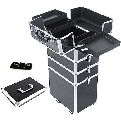 songmics-large-beauty-nail-art-storage-tool-kit-trolley-alu-7-in-1-with-2-storage-containers-black-j