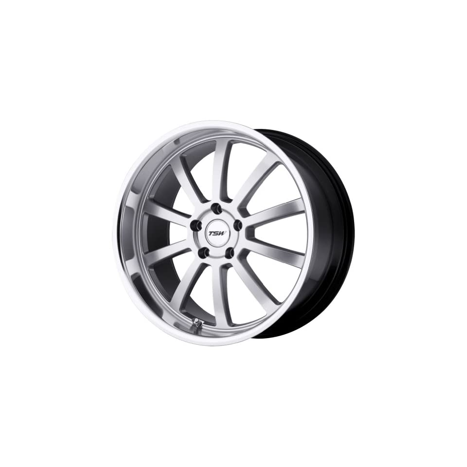 TSW Alloy Wheels Willow Hyper Silver Machined Wheel (20x8.5/5x114.3mm)
