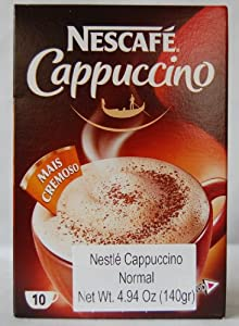 Nescafe Cappucino Packets