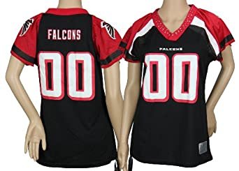 Atlanta Falcons NFL Ladies Team Field Flirt Fashion Jersey, Black by Reebok