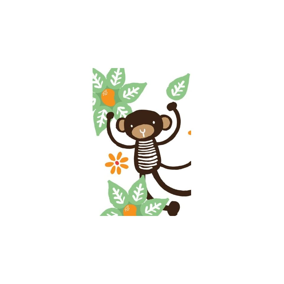 Wee Gallery Mango Tree Monkey Re Stik Wall stickers