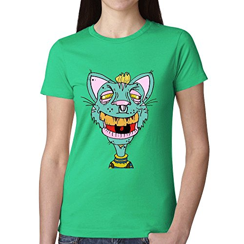 cheshire-cat-761-t-shirts-for-women-green
