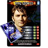 Doctor Who - Single Card : Exterminator 001 The 10th Doctor Dr Who Battles in Time Rare Card