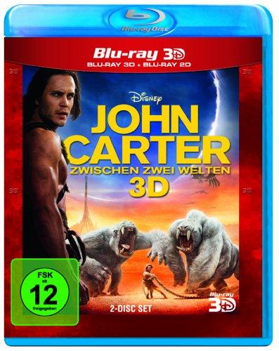 John Carter - Zwischen 2 Welten (+ Blu-ray 2D) [Blu-ray 3D]