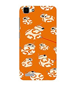 ifasho Animated Pattern colrful tribal design Back Case Cover for VIVO Y27