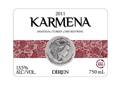 2011 Karmena Red Blend 750 Ml