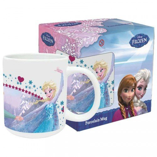 TAZZA CERAMICA DISNEY ELSA FROZEN MUG ML. 330 - FR0006