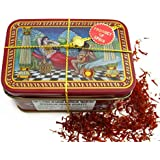 Spanish Coupe Quality Saffron Filaments La Mancha Tin, 14 Gram
