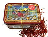 Spanish Coupe Quality Saffron Filaments La Mancha Tin, 14 Gram thumbnail