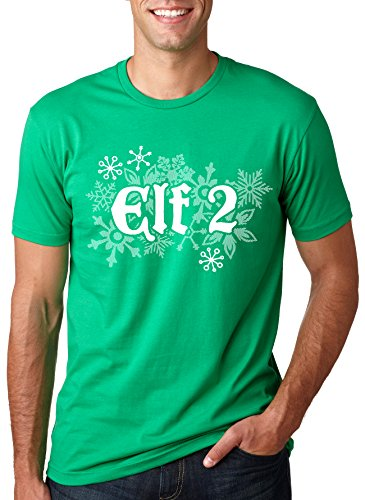 Elf Two T Shirt Funny Christmas Shirt Costume Tee For Couples