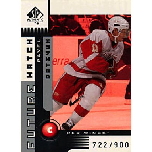 Pavel Datsyuk 2002 Upper Deck Future Watch Rookie Card 722/900 - NHL Kid's Toys
