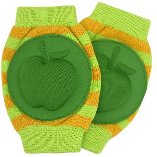 New Baby Crawling Knee Pad Toddler Elbow Pads 8055211 Green-green