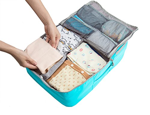 bagsmart-kids-suitcase-baby-travel-changing-handbags-clothes-nappy-organizer-toddler-luggage-packing