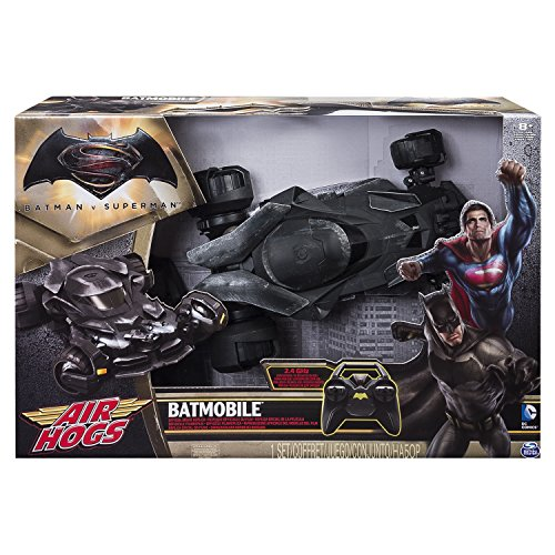 Air Hogs 6026063 - Veicolo Radiocomando Batmobile
