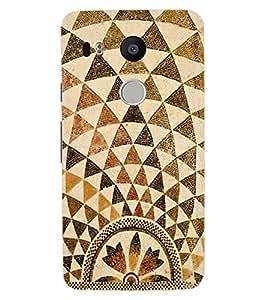 ColourCraft Lovely Pattern Design Back Case Cover for LG GOOGLE NEXUS 5X