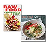 Anya Ladra Row Food low-Calorie Recipes Cookbook Collection Set. (Raw Food Cookbook and Diet: 75 Easy, Delicious, and Flexible Recipes for a Raw Food Diet and [Hardcover] Raw Food Detox - Revitalize and rejuvenate with these delicious low-calorie recipes