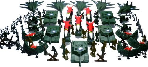 150pc Army Men Toy Soldiers