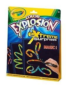 Crayola 10488 - Color Explosion Schwarz