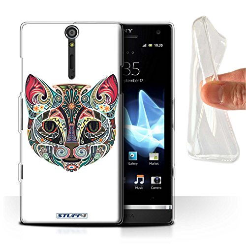 stuff4-gel-tpu-phone-case-cover-for-sony-xperia-s-lt26i-cat-design-ornamental-animals-collection