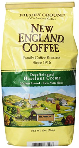 New England Coffee Hazelnut Creme, Decaffeinated, 10 Ounce (Keurig Cutter compare prices)