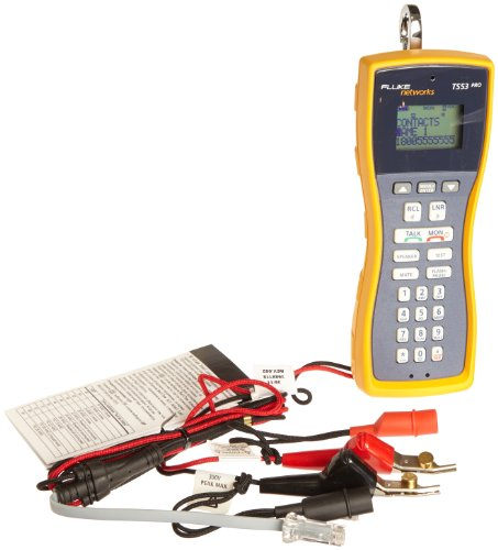 Fluke Networks Ts53-Ar-09 Pro Lcd Built-In Test Set, Abn With Piercing Pin And Rj11 Plug