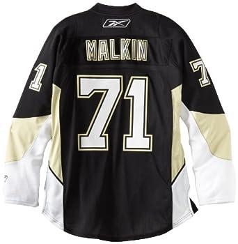 NHL Pittsburgh Penguins Evgeni Malkin #71 Premier Jersey, Large ,Black