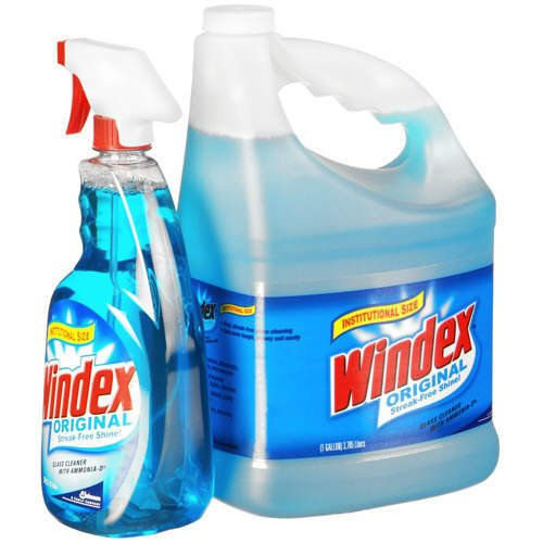 how to clean glass without windex