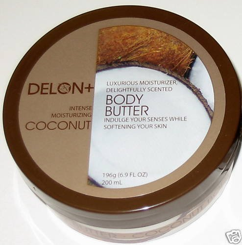 DELON Intense Moisturizing Coconut Body Butter
