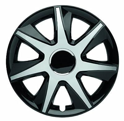 4er-Satz Radkappen 16 Zoll Master Line Plus C RUN black-silver für Volvo, Radblenden Radzierblenden Radkappe