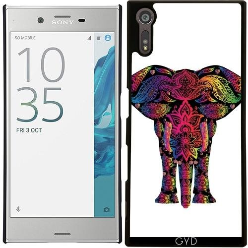case-for-sony-xperia-xz-colorful-elephant-mammal-style-by-wonderfuldreampicture